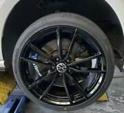 4x Brand New Pretoria Style Golf R 19 And New Nitto Japanese Tyres For Vw Caddy