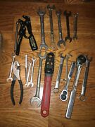 Over 10lbs Vintage Craftsman Tools Sockets Wrenches Ratchets