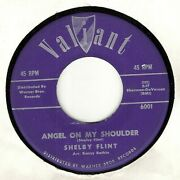 45rpm Shelby Flint And039 Angel Of My Shoulder And039 Vg+ And039 Folk Rock