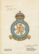 78 Squadron Raf Crest Centenary Prints - Limited To 100