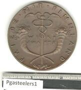 Pgasteelers1goetz Medal Opus 207 Peace With Finland March1918 Cast Bz 58mm