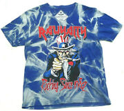 Rawyalty Couture Rocking Since 1982 Uncle Sam Iron Maiden T-shirt L Large A