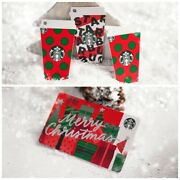 2019 Starbucks Singapore Merry Christmas Paper Card And Red Cup Mini Die-cut Cards