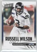2015 Panini Fatherand039s Day Decoy Thick Stock Russell Wilson 3