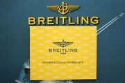 Breitling B67050 Windrider Wings L. Watch Maintenance Manual Book Guide Booklet