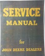 John Deere 720 Diesel Tractor Master Repair Service And Parts Manual Two-cylinder