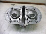 74 Yamaha Xs650 Engine Misc Ym244 Cylinder Top End Jugs W Pistons