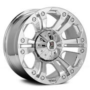 18 Inch Chrome Rims Wheels Lifted Ford F150 Expedidtion Xd Series Monster Xd778