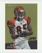 2009 Topps National Chicle Box Loader Cabinet Chad Johnson Nccc14