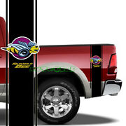 2pcs Rumble Bee Racing Stripe Stickerstruck Car Decals For Dodge Charger Ram Etc