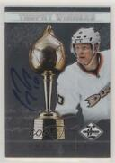 2012-13 Panini Limited Trophy Winners Signatures /99 Corey Perry Tw-1 Auto