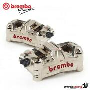Brembo Racing Gp4 Ms Monoblock 100mm Pitch Pair Radial Calipers Streetfighter V4