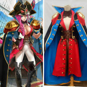 Fate/grand Order Rider Francis Drake Full Set Outfit Cosplay Costume Custom {5a}