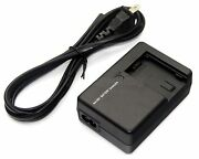 Battery Charger For Aa-vg1 Jvc Everio Gz-ex555 Gz-ex575 Gz-g3 Gz-g5 Gz-gx1 U New
