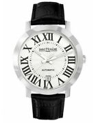 Saint Honore Mens Swiss Made Automatic Watch With Sapphire Glass 8970201arf