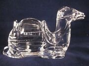 Waterford Crystal Nativity Camel Excellent