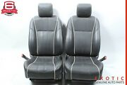 10-15 Jaguar Xj Front Left And Right Complete Seat Cushion Black Oem