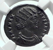 Fausta Wife Constantine I The Great 324ad Genuine Ancient Roman Coin Ngc I81614