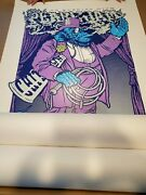 Pearl Jam 2xl Poster Print Wrigley Field Chicago Limited Edition S/n Ames Bros