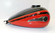 Harley Oem Cvo 2016 Flhtkse Limited Touring Fuel Gas Tank Carbon Dust/red Pearl