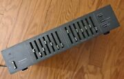 Vintage Pioneer Sg-505 7-band Stereo Graphic Equalizer Black - Working