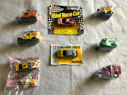 Kelloggs Cereal Trucks Set Of 5 Ford Model T And A Collectible Plus 3 Nascar Cars