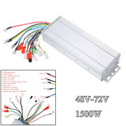 48-72v 1500w Electric Brushless Dc Motor Speed Controller Bicycle E-bike Scooter