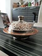 Vintage Hammered Copper Bowl, Ottoman Style