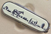 Swiss Knife Barlow Photo Reproduction Thoroughbreds Horse 506613 New