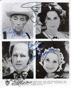 Cast Of North And South 4 Autographed Photo From North And South W/coa