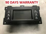 Warranty 2011 2012 2013 2014 2016 Dodge Journey Touch Screen Climate Control Oem