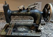 New Home Antique Treadle Sewing Machine 1921 Floral Pattern Tested Works Used