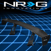 Nrg Innovations Rear Trunk 69 Gt Style Real Carbon Fiber Spoiler Wing Carb-a692