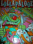 Lollapalooza Poster Perry Farrell Frank Kozik Signed Numbered Concert Print 2016