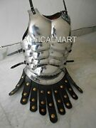 Larp Chrome Muscle Breast Plate Medieval Armor Reenactment Collectible Costume