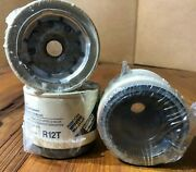 Oem Racor R12t Filter Fuel Water Separator 10 Micron -lot Of 1-