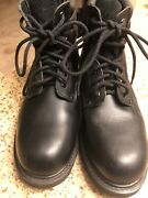 Vintage Mens Shoes Engineer Motorcycle Boots Sears Steel Toe Size 13d