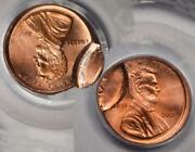 2001 Pcgs Msd64rd Mated Pair 2 Coin Set Lincoln Cent Mint Errors Rare Type Set