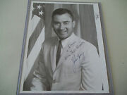 John Young Early Autographed Vintage Rd Nasa Portrait
