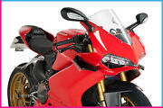Puig Spoiler Laterale Downforce For Ducati 959 Panigale 2018 Black