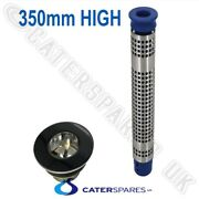 350mm Tall Commercial Sink Plug And Filter Strainer Kit Standpipe And Drain Outlet