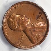 1962 D Pcgs Double Struck Rotated In Collar Lincoln Cent Mint Error Two Dates