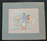 Harrison Begay Seriograph - Coll. Archie Parr Iii - Duke Of Duval -texas History