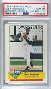 1994 Fleer Procards Midwest League All-star Game Alex Rodriguez Psa 10 Rookie