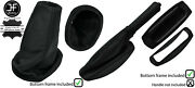 Black Stitch Leather Boots Frame And Handle Cover For Lotus Elise Exige 04-14