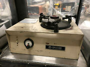 Spitfire Sp-ml12 Lapping Machine W/ Upper Plate And Conditioning Ring