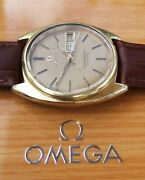 Omega Constellation Vintage Mens Watch 1978 Serviced Plus Warranty And Box