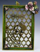 Jay Strongwater Enameled Blossom Picture Frame 4x6 Nib