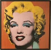 Andy Warhol Marilyn Monroe Offset Lithographs - Set Of 4 On Heavy Stock Paper.