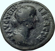 Faustina Ii Jr. 161ad Philippopolis Thrace Demeter Torches Roman Coin I42192
